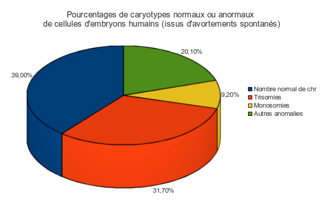 Exercice des caryotypes anormaux - Anomalie chromosomique fausse couche ...